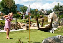 Minigolf am Woferlgut in Bruck